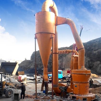 这才是石头磨粉机正确的打开方式wzz85