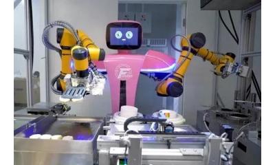 跨界后的这个巨头,在发展机器人的路上越走越快!还要让世界吃上中国机器人做的菜!