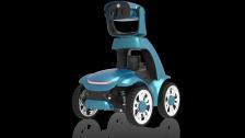 华通科技智能巡检机器人