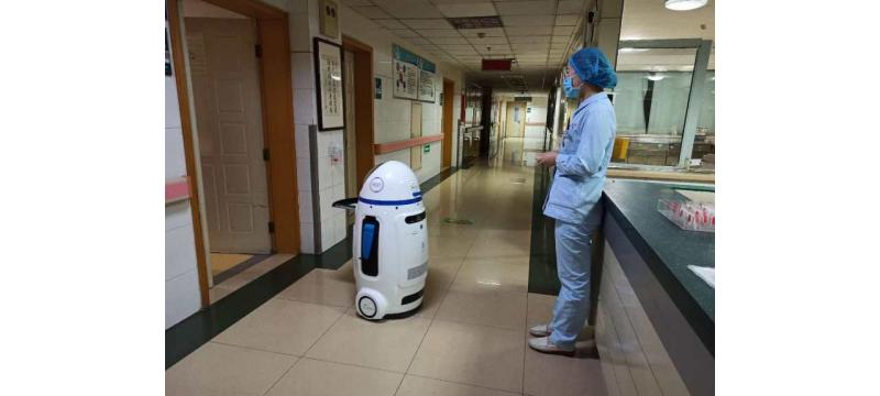 小胖机器人医院上岗,送药、远程问诊样样行!