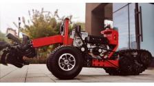 履坦拱腰式植保机器人