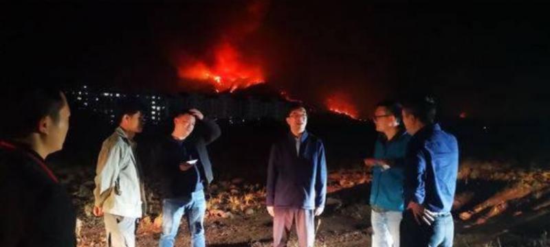 四川木里、西昌火灾应急测绘 无人机获取火场及周边热红外监测视频数据