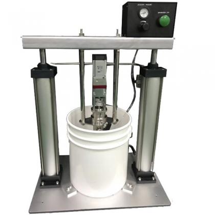 5加仑螺杆泵供胶系统17722180037_东莞市益仁实业有限公司-点胶机厂家-全自动点胶机