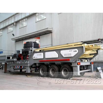 时产500吨的移动式建筑垃圾磕石机有吗YJN89
