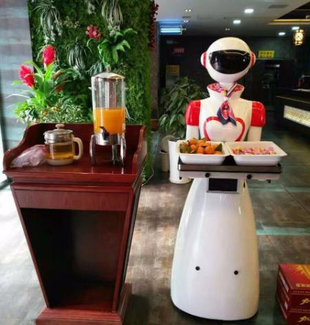 智能送餐机器人使用维护的注意事项