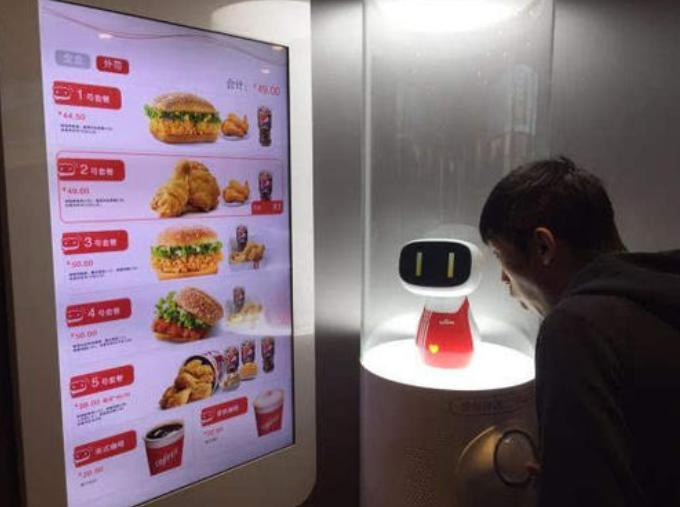 这不是科幻,而是餐饮业的未来:来看看肯德基首个机器人餐厅