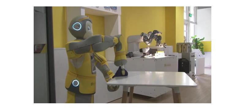 """服贸会里的""""机器人总动员""""来了,与你的生活息息相关!"""
