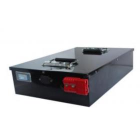 定制48V/100Ah AGV小车磷酸铁锂电池