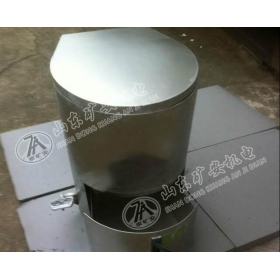矿用自动集便器 免水冲打包不锈钢座便器