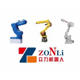 搬运机器人 码垛机器人 安川 ABB 发那科就选众力工业机器人