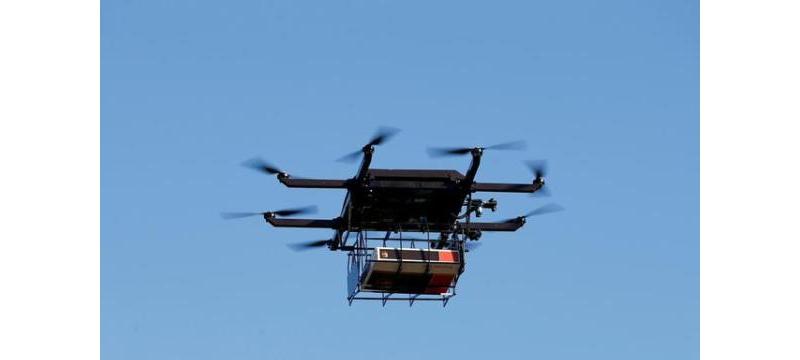 无人机送货重要一步:美国将允许小型无人机飞跃人群上空