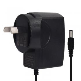 12W澳规SAA插墙式带线电源适配器