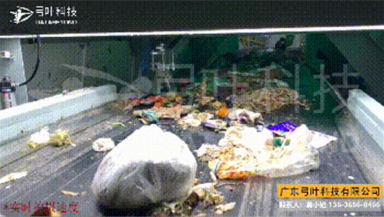 二号站平台测速厨余垃圾如何除杂?国内首条厨余垃圾智能机器人分拣线落地郑州