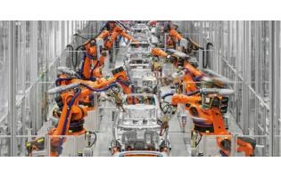 中国工业机器人产销量稳居全球第一!5月产量同比增长50.1%