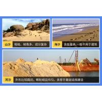 沙子种类有哪些?怎么分类