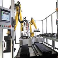 开关柜垫片机-机器人自动涂胶机