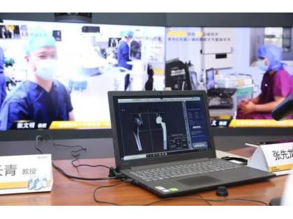 全国首例四地5G远程机器人髋膝关节置换术完成!