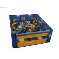 工业机器人拿产品打磨去毛刺工作站、浮动工具去毛刺