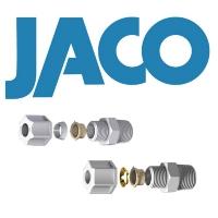 美国JACO塑料卡套式接头PP/PVDF/尼龙/缩醛